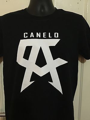 Team canelo #training  #boxing box  signature t shirt #black white s - xxl,  View more on the LINK: http://www.zeppy.io/product/gb/2/182131821176/