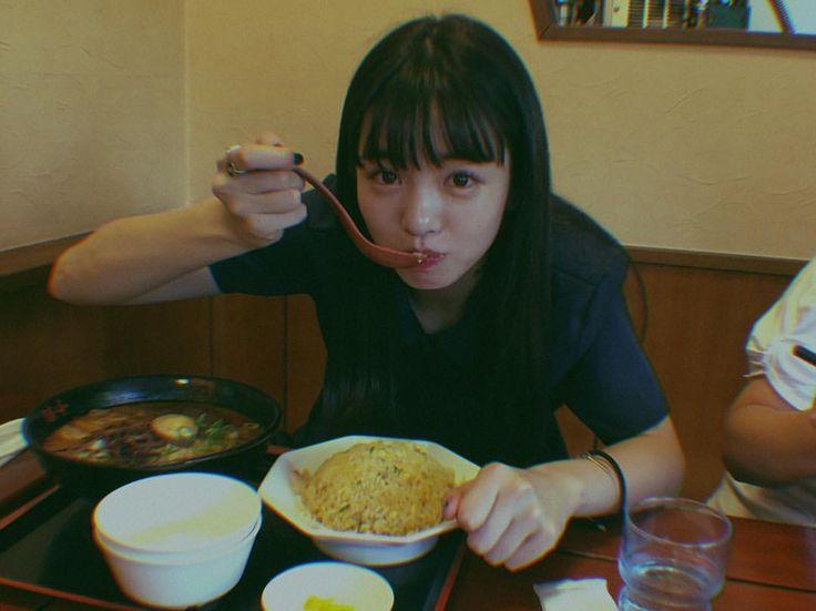 横田真悠の食事画像