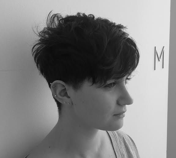 Gennifer Goodwin inspired short hairstyle by Nick Flores