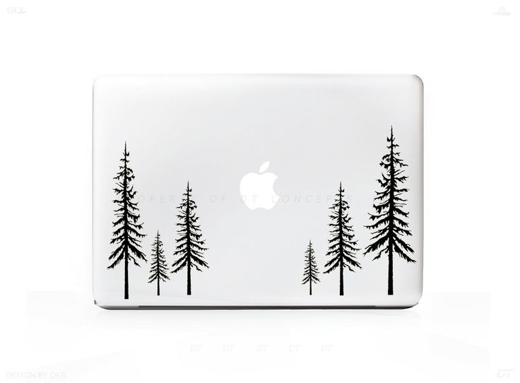 "Redwood Forest Sticker Decal For MacBook Pro 13"" 15"" 17"" Universal Sticker. 6 Year Guarantee"