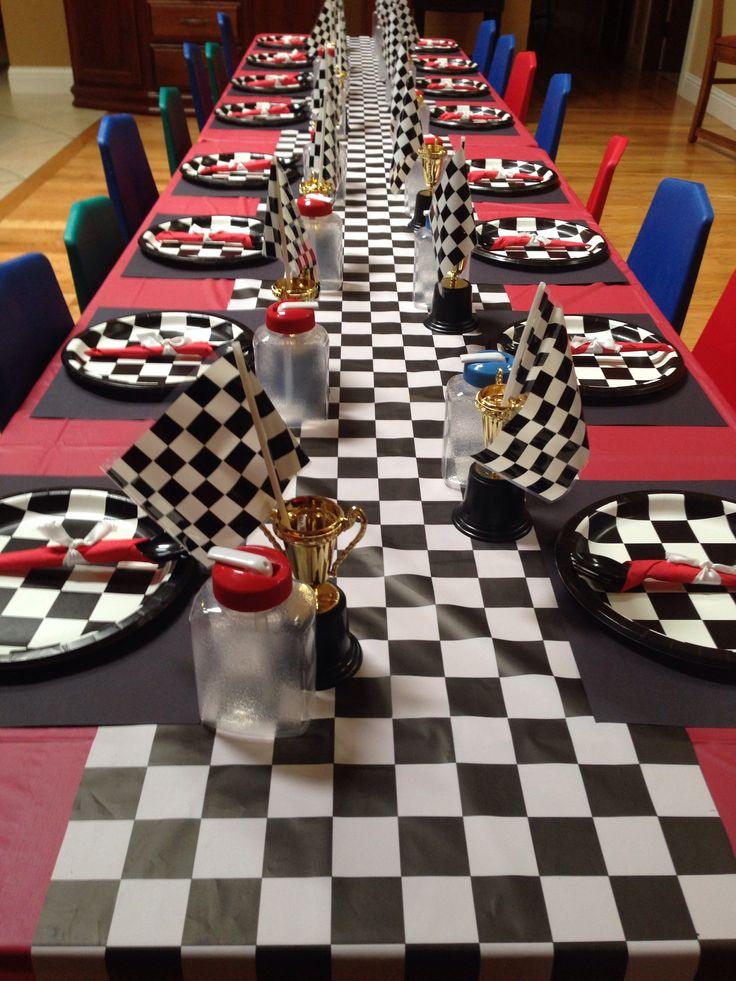 4-wheeler/cars/Checkered flag birthday
