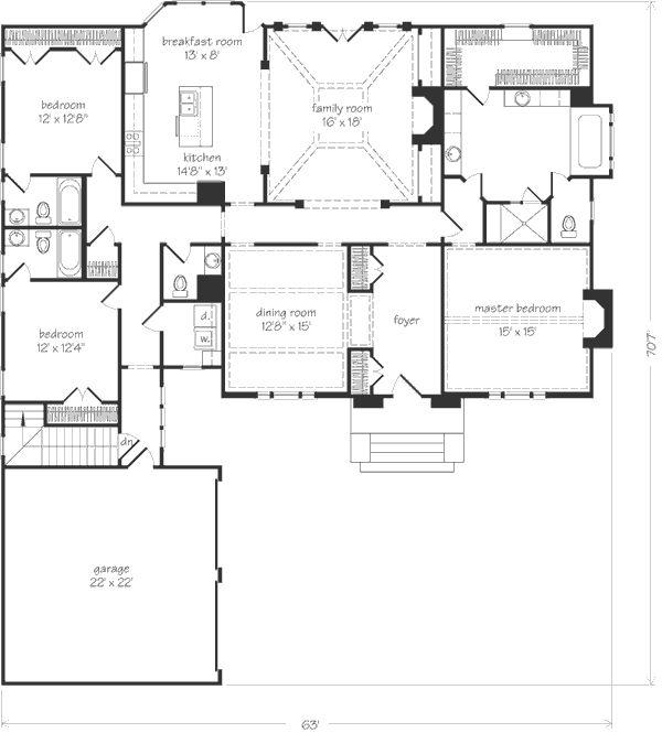 South Ridge Floor Plans: Madison Ridge, Open Floorplan, Split Bedrooms..