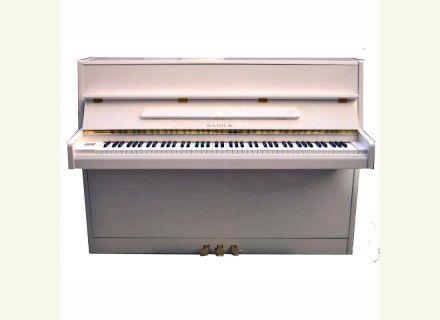 Piano blanc laqué