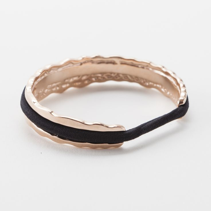 Hair Tie Bracelet - Original Design | Brit + Co. Shop | DIY Online classes, DIY kits and creative products from makers you'll love.