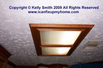 fluorescent kitchen light fixtures kitchen fluorescent light fixture