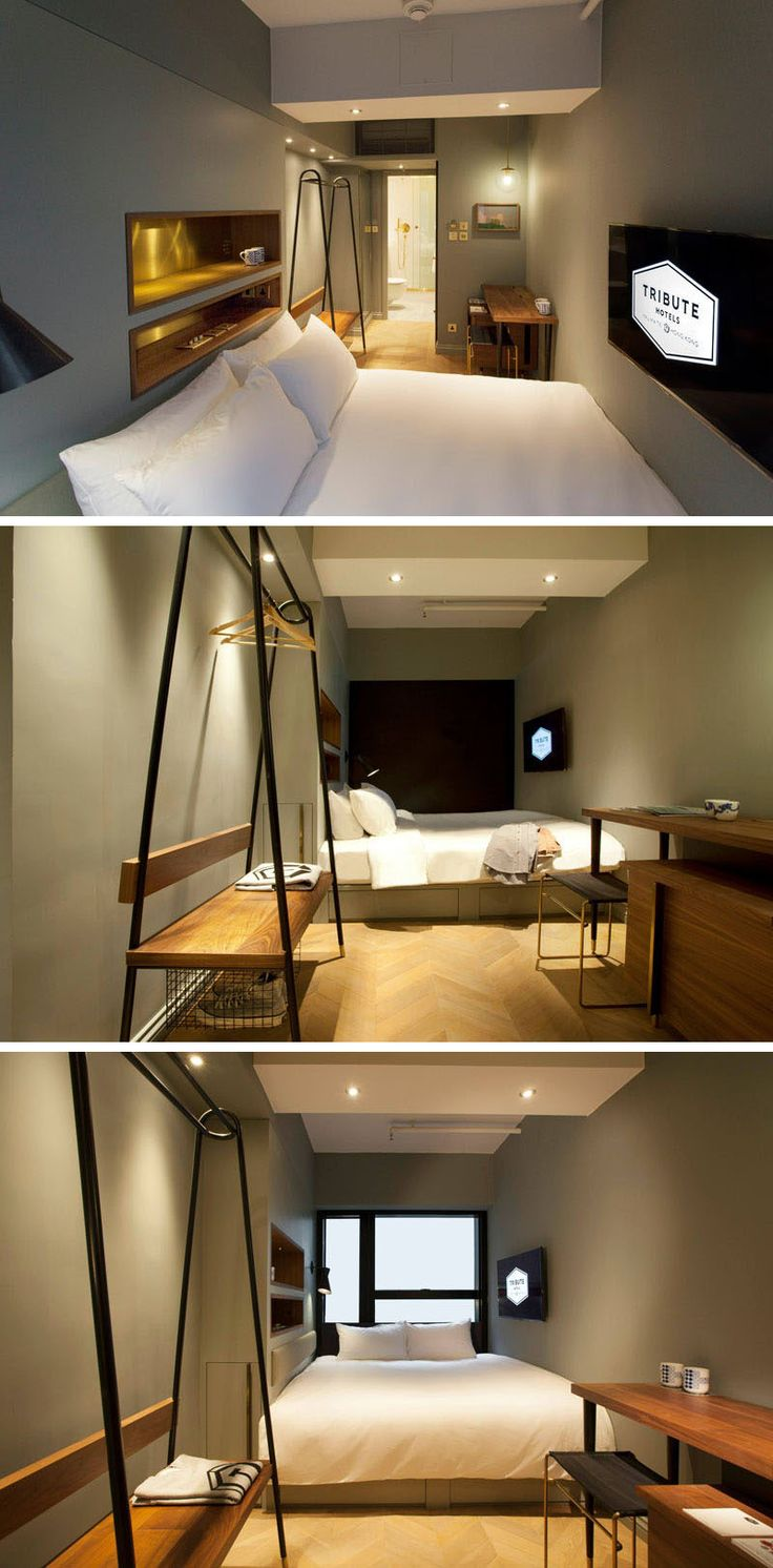 8 Small Hotel Rooms That Maximize Their Tiny Space