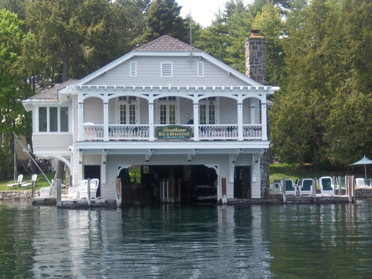 111 best boathouses amusing stylish images on for Boat garage on water