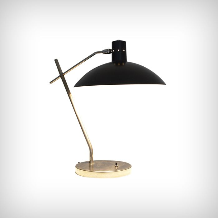 Lamp by Jacques Biny, circa 1950
