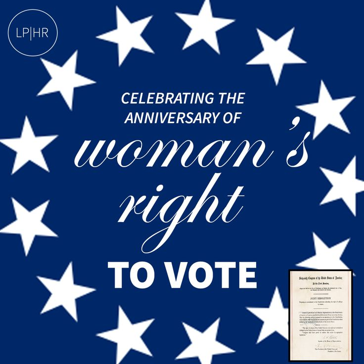 Today, #Ladies + #Gentlemen #Celebrate the Anniversary of the 19th Amendment to the U.S. Constitution: Women's Right to Vote  // http://1.usa.gov/1pB9m33 #Aug18