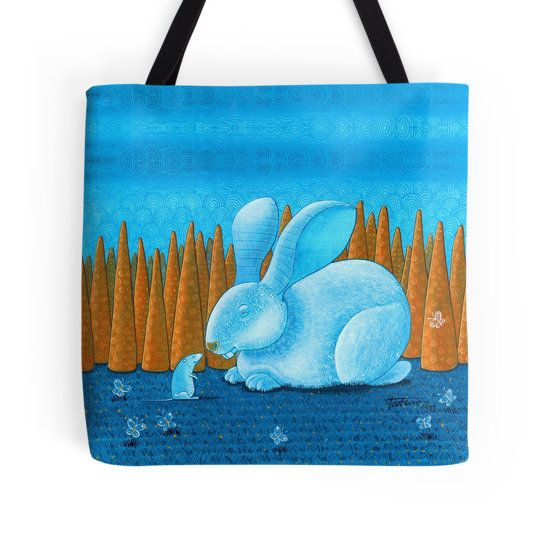 Rabbit in the carrot forest