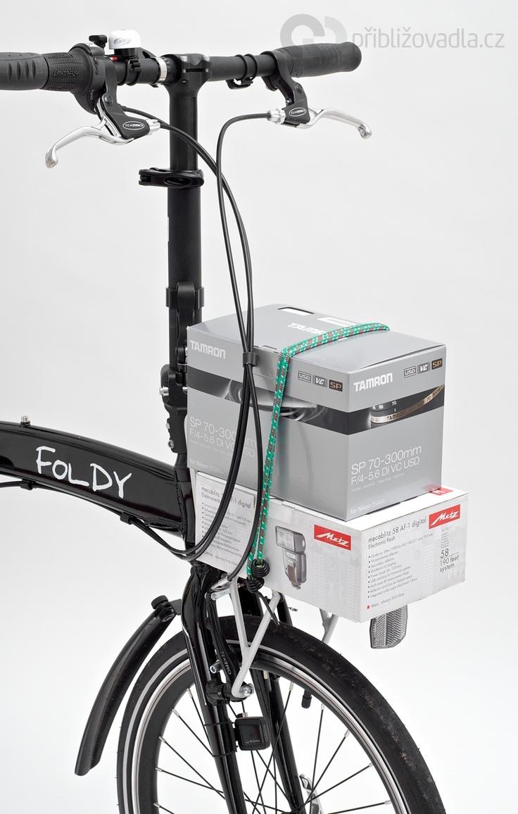 Folding bike Foldy | Skládací kolo Foldy > Priblizovadla.cz