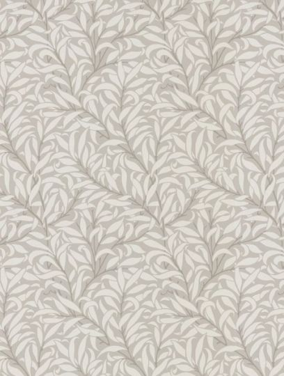 Willow Bough, a feature wallpaper from Morris and Co, featured in the Morris Pure collection.