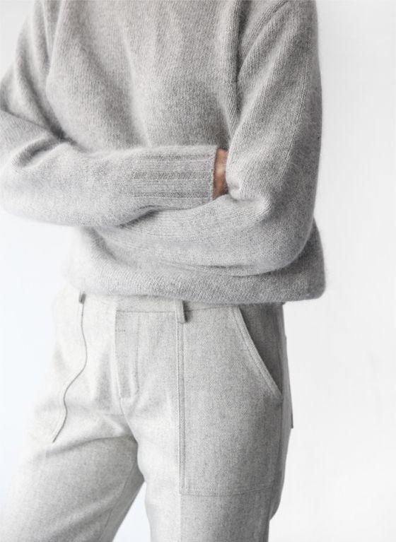 softest grey