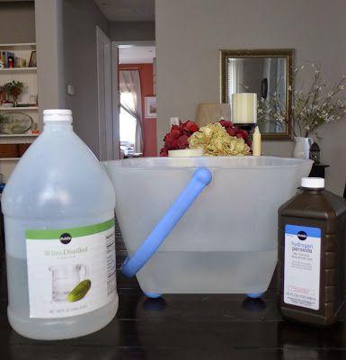 #Natural, Safe Tile #Floor Cleaner  Only 3 Ingredients! #DIY