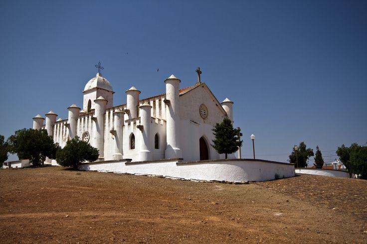 Photo Luís Reininho Igreja da mina de S. Domingos, Mértola, Alentejo.