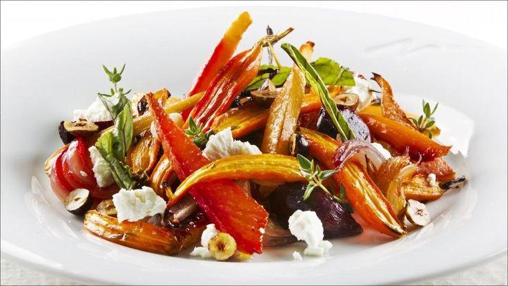 Timian- og honningglaserte rotfrukter - Det som er sunt i den ene dietten kan være helt krise i en annen.