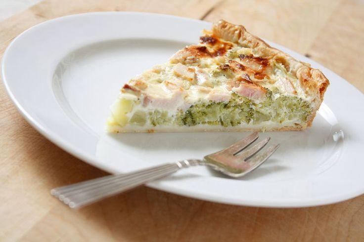 Tarta de brócoli, una saludable delicia.   Marco Beteta