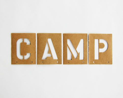 CAMP: Camps Camps, Camping Camping Camps, Theme Parties, Brass Stencil, Camps Stencil, Camps Parties, Camps 3, Summer Camps, Camps N