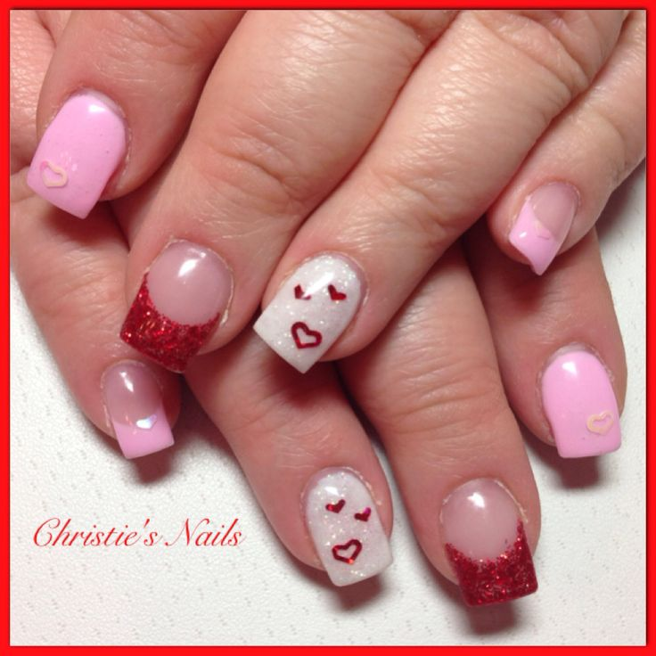 Christie's Corner - valentines nails ❤️