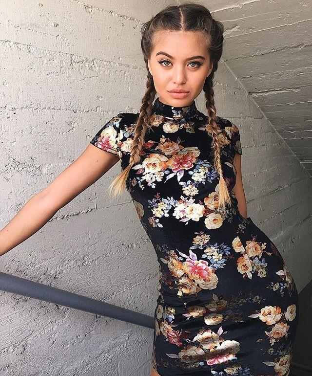 8e8d8018bf Kira Oriental Mini Dress in 2019 | Bodycon | Fashion, Dresses ...