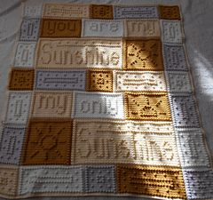 Free Crochet Pattern For You Are My Sunshine Blanket : Sunshine pattern by Jody Pyott Ravelry, Crocheted ...