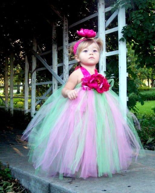 Vestidos de fiestas para niñas: Vestido tutú