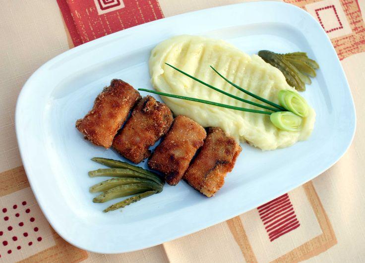 Rychlé mňamky: Sýr, smažený v anglické slanině