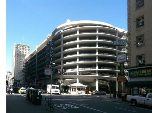 Civic Center Garage: City Center Garage At O'Farrell And Mason By George