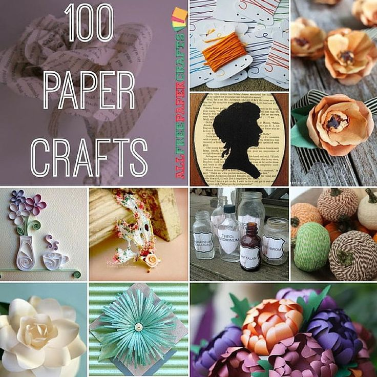 100 Paper Crafts: Card Making Ideas, Free Printables, And More Paper Craft  Ideas