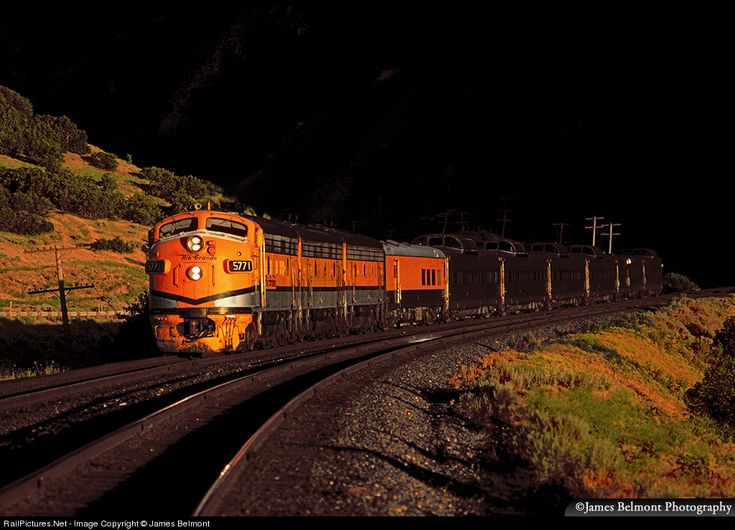 RailPictures.Net Photo: DRGW 5771 Denver & Rio Grande Western Railroad EMD F9(A) at Spanish Fork, Utah by James Belmont