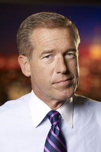 """BRIAN WILLIAMS NBC Nightly News Anchor, 53  From our reporter's notebook:  His Diet: """"I cannot pass an Arby's or Taco Bell without swer..."""