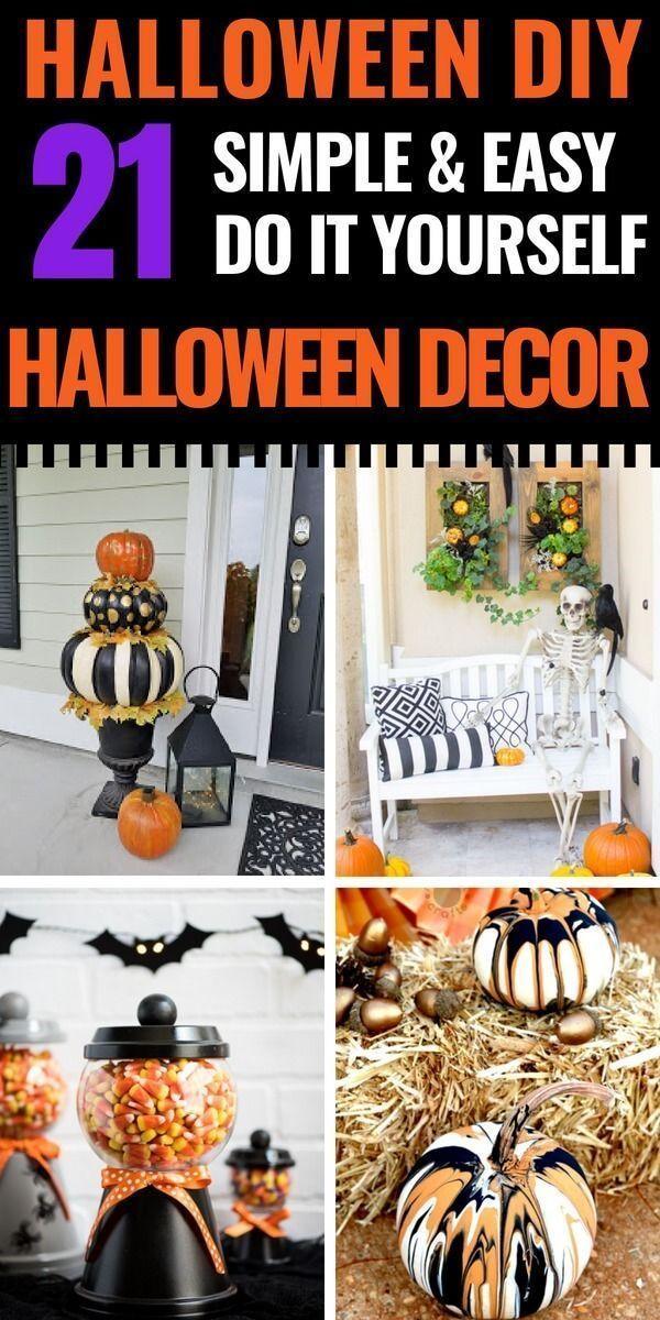 Room Decor Ideas For 10 Year Olds Decor Ideas Paper Decor Ideas Reddit In 2020 Easy Halloween Decorations Homemade Halloween Decorations Diy Halloween Decorations