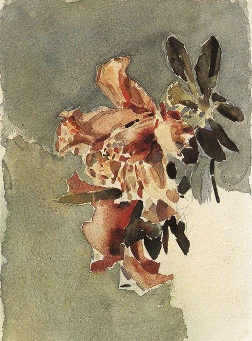 Red Azaleas - Mikhail Vrubel