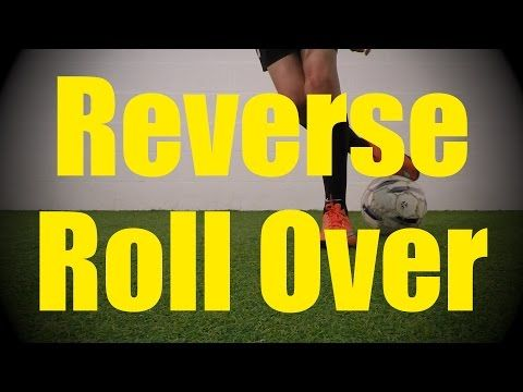Reverse Roll Over - Static Ball Control Drills for U10-U11