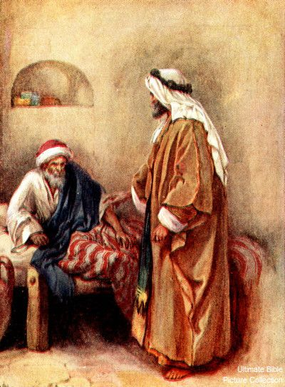 Acts 9 32 - 35 :  Peter heals Aeneas.