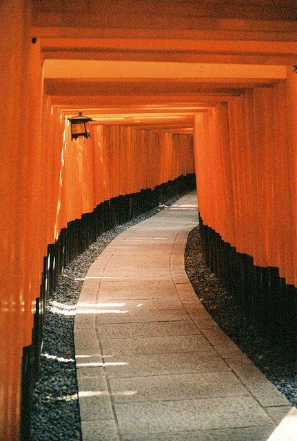 伏見稲荷大社 Fushimi-Inari Shrine,Kyoto,Japon.