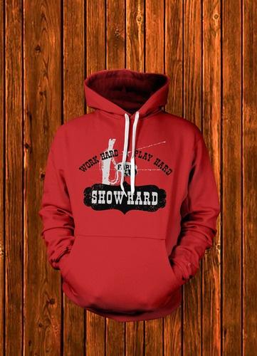 "Work Hard. Play Hard. Show Hard. I'm thinking of a ""perry county livestock show"" T-shirt design @Carol Hellwege-Word"