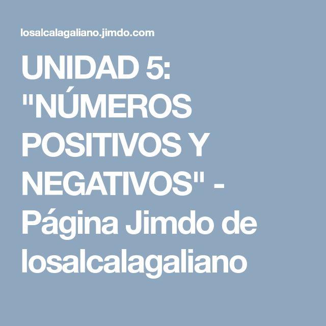 39 best Enteros images on Pinterest | Numeros enteros, Escolares y ...