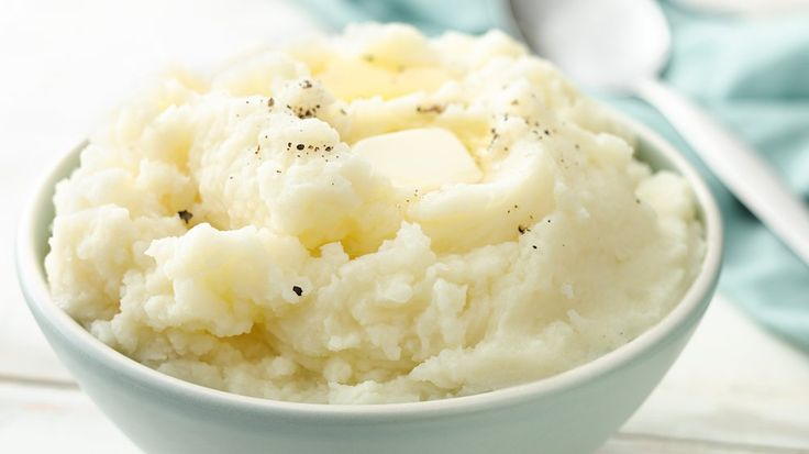 Enjoy a classic all-time favorite - smooth and creamy mashed potatoes make the perfect side dish for any meal.