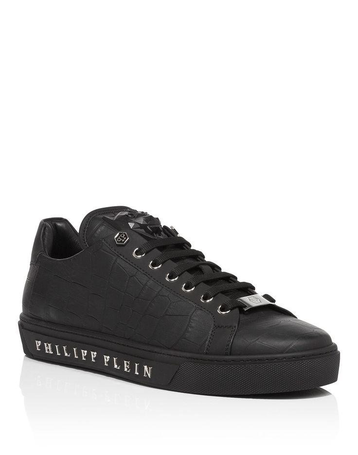 """PHILIPP PLEIN LOW SNEAKERS """"TUSK"""". #philippplein #shoes #"""