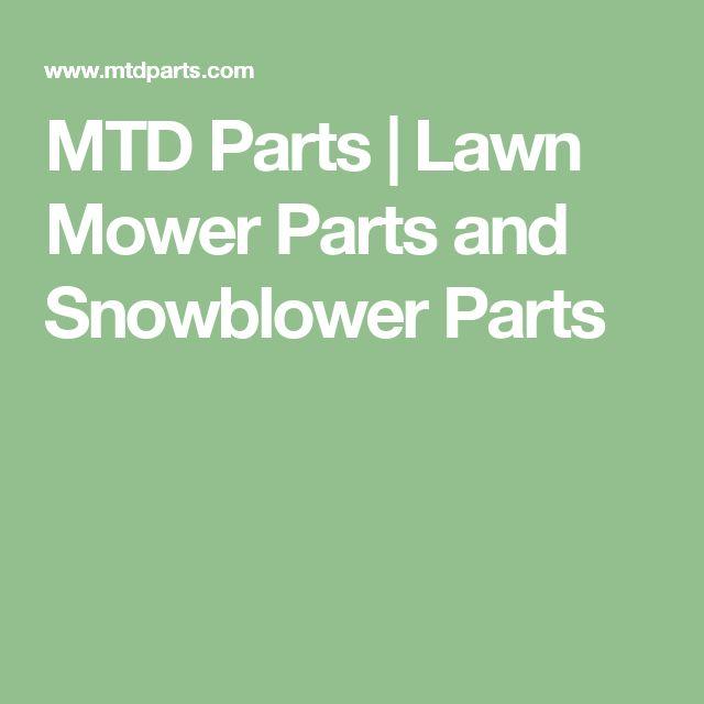 MTD Parts   Lawn Mower Parts and Snowblower Parts