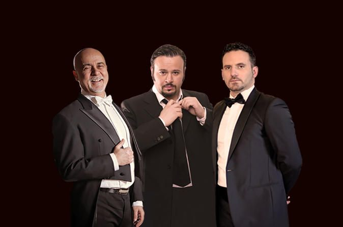 The Three Tenors and The Tango of Love in Barcelona