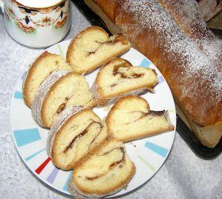 W Mojej Kuchni Lubię.. : drożdżówka na śniadanie z czekośliwką...