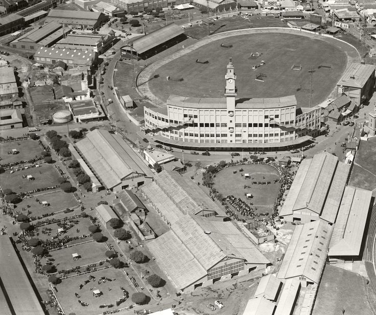 Sydney Showground small rings - Easter 1936 Royal Australian Historical Society saved to Adastra Aerial Survey Collection