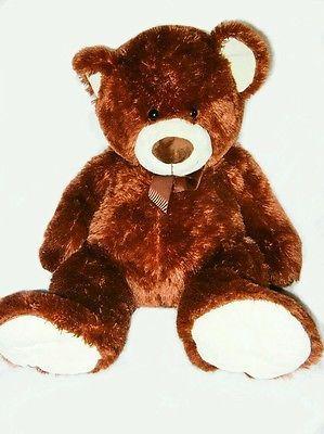 Inter-American Products Stuffed Plush Anumak Brown Large Jumbo Teddy Bear 30in
