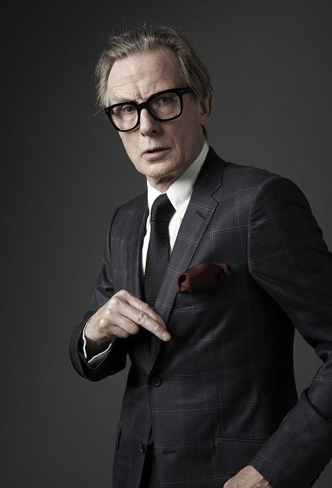 Bill Nighy - love his voice.