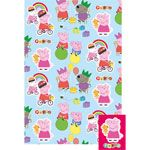 Gift Wrap: Peppa Pig Wrapping Paper - 2 Gift Wrap Sheets & Tags (each)