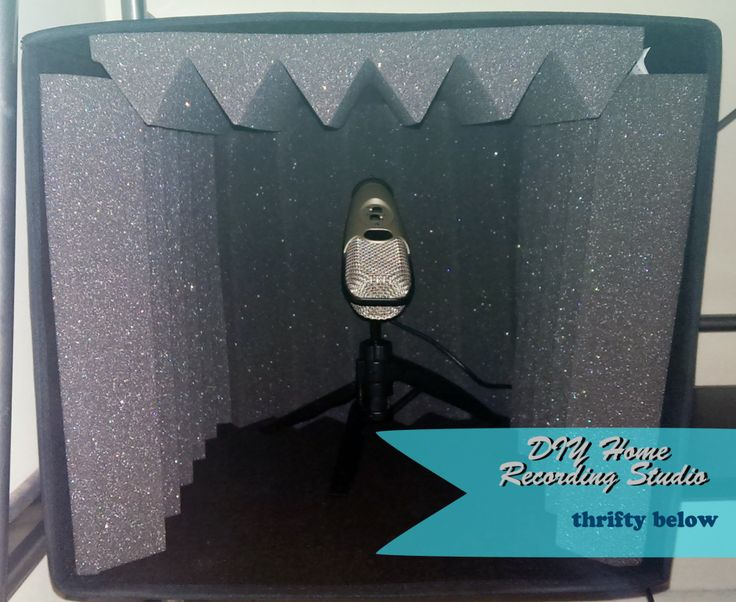 #DIY Home #Recording Studio for Under $75 | Thrifty Below