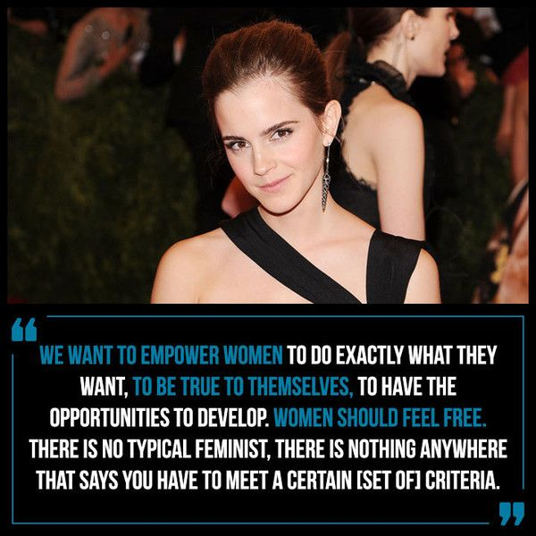 On the Many Definitions of the Word 'Feminist'... - Emma Watson's Most Powerful Quotes About Feminism and Women - Photos