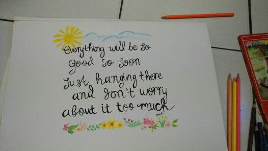Note to my self :)